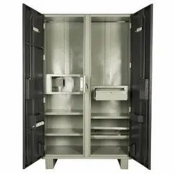 Double Locker Steel Almirah