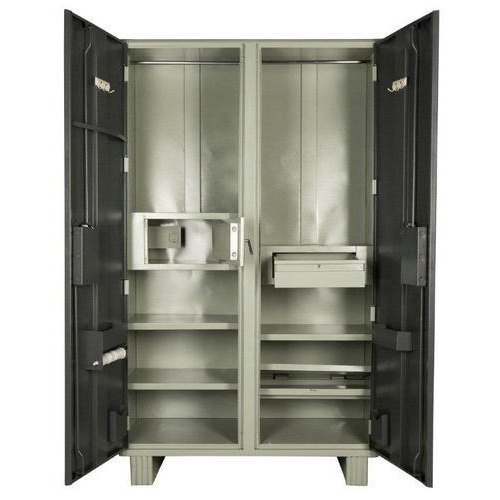 Double Locker Steel Almirah