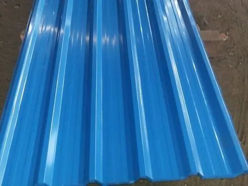 Colour Coated Profile Sheet Tata Metal Roofing Sheets