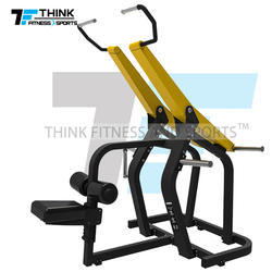 Lat Pull Down Plate Loaded Gym Machine