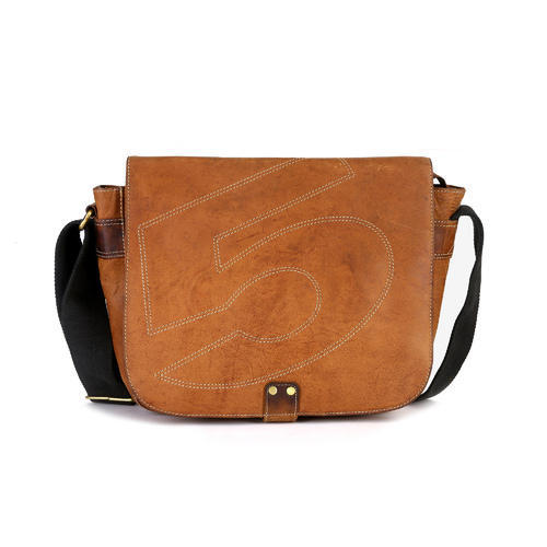 Hawai Brown Beautiful Leather Cross Body Sling Bag For Women
