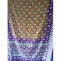 Multicolor Printed Cotton Bandhani Saree, Packaging Type: Packet