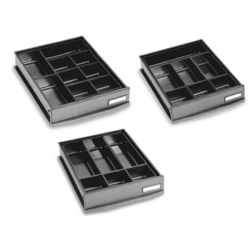 MS Black Conductive Utility Containers