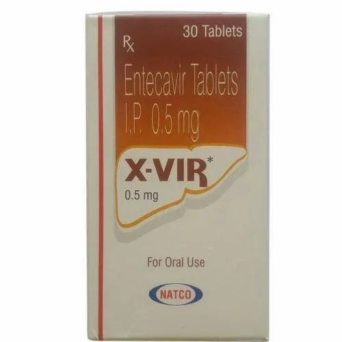X-VIR 0.5mg Tablet Entecavir 0.5mg