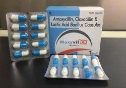 Amoxycillin,Cloxacin & Lactic Acid Bacillus Capsule