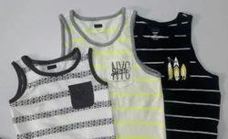 Boys Sleeveless T-Shirt Sandos