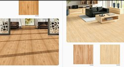 Digital Printing Natural Wooden Floor Tile, Size: 60 * 60 In cm, Thickness: 5-10 mm