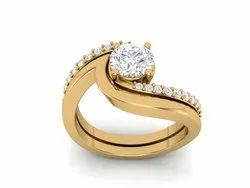 925 Sterling Silver Cubic Zircon Ring
