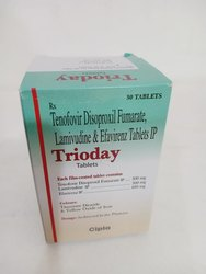 Tenofovir Disoproxil Fumarate Lamivudine And Efavirenz Tablets IP