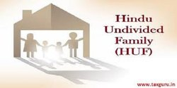 HUF- Hindu Undivided Family