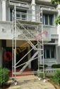 Aluminium Double Width Mobile Tower Scaffold