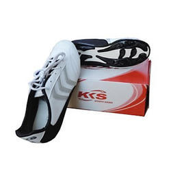 KKS White and Black Football Shoes