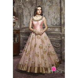4121fd8fef Medium And Large Ladies Designer Wedding Wear Gown
