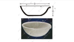 Round Bottom Basins with Spout Enquire Now