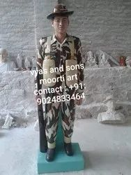 Army Marble Statue