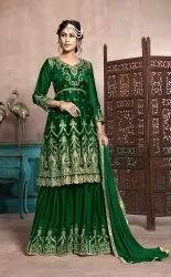 Designer Sharara Dress