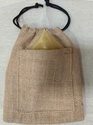 Brown Jute Potli Bag