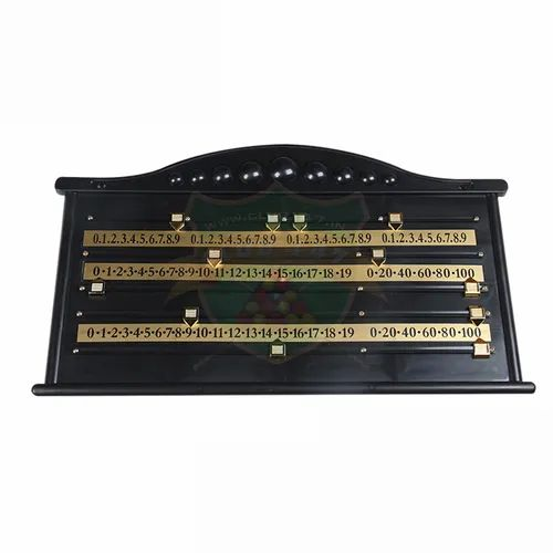 Club 147 Snooker Scoreboard Plastic