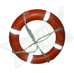 Solas Lifebuoy Ring with Retroreflective Tapes