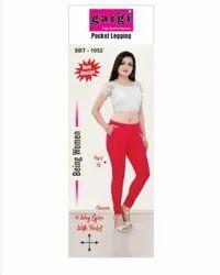 Gargi Lycra Pocket Leggings, Size: Free Size