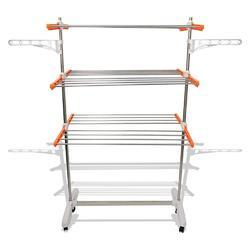 Drying Stand X Cloth 24 Stainless Steel Rod Get 6 Hanger