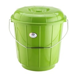 Plastic Bucket With Steel Handle 18 Ltr