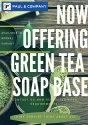 Paraben Free Green Tea Soap Base