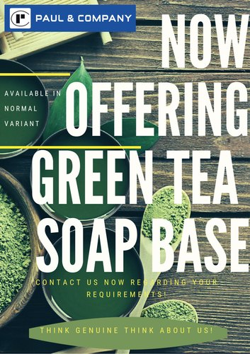 Yes Green Infrastructure: Paraben Free Green Tea Soap Base & Paraben Free Cucumber