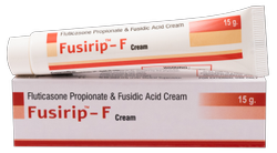 Fusidic Acid 2%, Fluticasone Propionate 0.05%( Fusirip - F Cream)