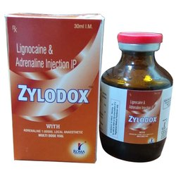 Lignocaine Hcl 24.64 Mg,Adrenaline 0.0125 Mg