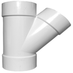 PVC Y Connector, For Hydraulic Pipe , Size: 3 Inch