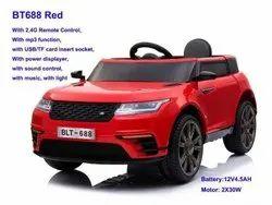 Red Gapuchee Fiber Landrover Battery Car Bt-688