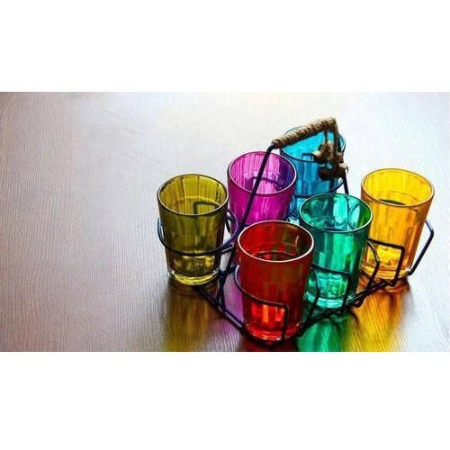 Color Tea Glass