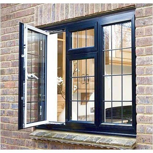 Aluminium Casement Window एल्युमिनियम की केसमेंट खिड़की