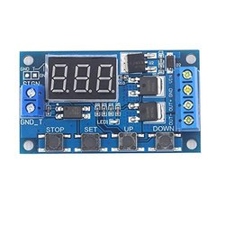 CentIoT - DC 6-36V MOSFET Controlled Time Delay Switch -  Switch Voltage Protection - LED Display