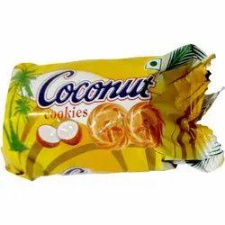 25 Gram Coconut Cookies, Packaging Type: Packet