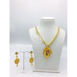 Trendy Chain Necklace Set