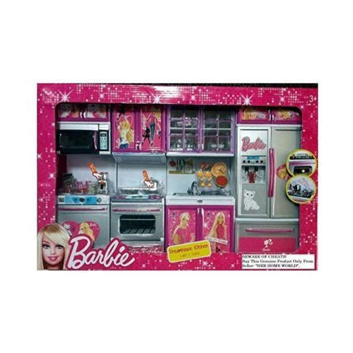 Grey Barbie Dream Kitchen Set Rs 450 Set Rana Traders Id 18945104097