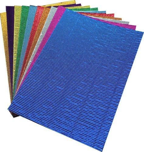 Pack Of 10 A4 Size Corrugated Craft Paper Sheets Art Craft Art