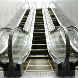 Metro Stations Escalator