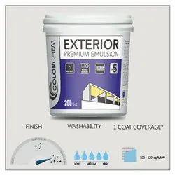 Colorchem High Sheen Exterior Premium Emulsion Paint, Packaging Size: 20 Ltr