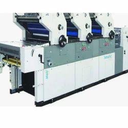 Three Colour Non-Woven Bag Printing Machine