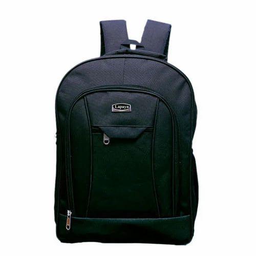 Nylon Lapaya Black School Bag, Size  14x7x19, Rs 800  piece   ID ... ae22ee5ea1