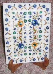 Inlaid Marble Tray