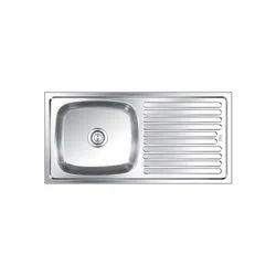 Nirali Kitchen Sink With Drain Board