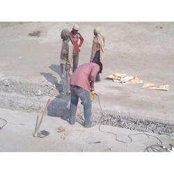 Hilti Machine Te 800 At Site RCC Dismantling Services