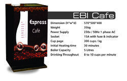 Live Tea & Coffee Vending Machine for Rent