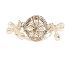 Bindhani Traditional Gold Plated Pearl Bracelets For Gilrs