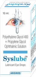 Aromed Allopathic Syslube Eye Drop, Bottle Size: 10 ml