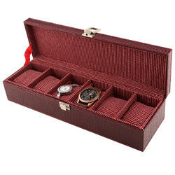 06 Red Wine Watch Box